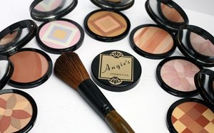 Blended together, they create a universal shade to correctly balance the complexion or create a bronze or rosy glow. White Sapphire Complex helps to create a soft focus effect, minimizing skin imperfections. Apply over foundation or onto bare skin. Use throughout the day for quick touch ups. Hypoallergenic. Paraben and fragrance free. http://www.angiescosmetics.com/bronzers/