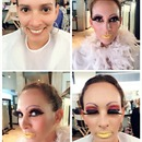 Stage make up -drag queen