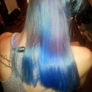 blue hair dont caree