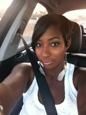 Excuse the seatbelt...safety first! lol
