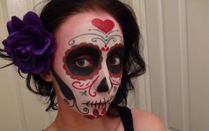 Mexican Sugar Skull.... Video to come