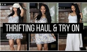 Thrift Haul and Try On
