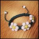 Daisy chain bracelet