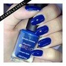 Dark blue!