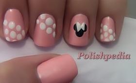 Minnie Mouse Nail Art