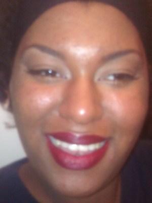 Natural Eyes/Burgundy Lips