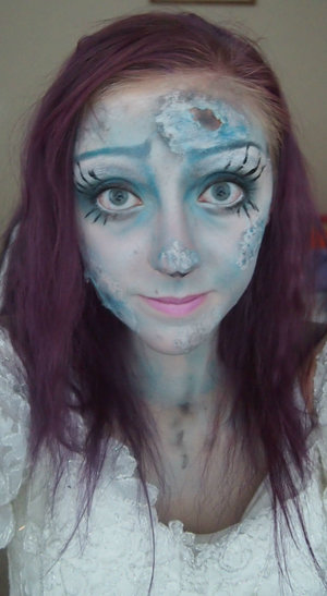 October 31st 2014: Sadly the last day of the 31 days of Halloween, but this is my Emily from Corpse Bride look!