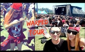 My First Time At Warped Tour Vlog!   | Ashley Engles