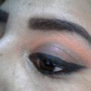 orange/Brown Eyeshadow