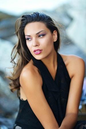 Model:Nathi Majewski, MUA: Giselle Karounis Hair: Vassilis Saroglou,  Photographer: Peny Giannakou,  Clothes: Valtadoros Paris