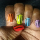 Working with Nail Striper