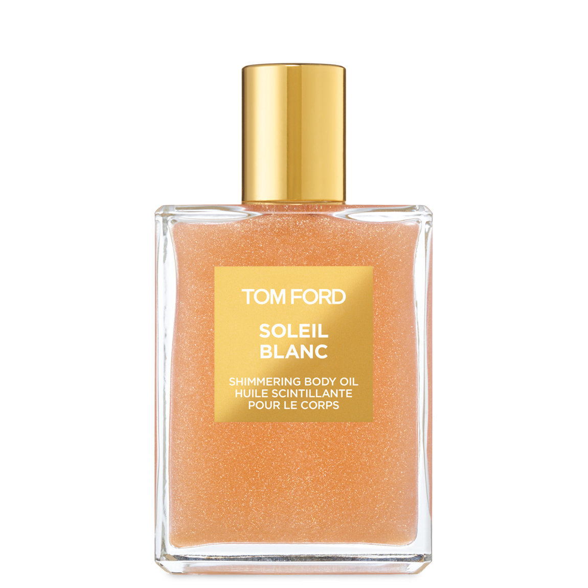 TOM FORD Soleil Blanc Shimmering Body Oil Rose Gold alternative view 1 - product swatch.