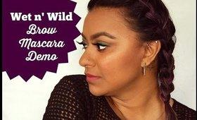 Wet n' Wild Brow Mascara Demo