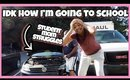 MY CAR BROKE DOWN BEFORE SCHOOL | Single Mom Vlog