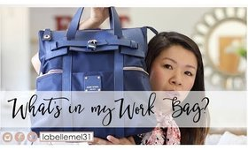 Back to School Edition | What is in My Work Commuter Bag | MsLaBelleMel