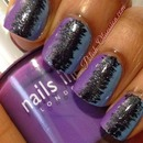 """Equalizer"" nail art"