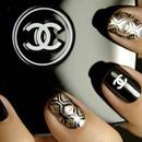 Coco Chanel nails