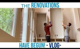 House Renovation Vlog 🏡🔨
