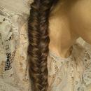 Fish side braid