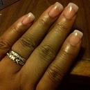 Natural Nails clear acrylic