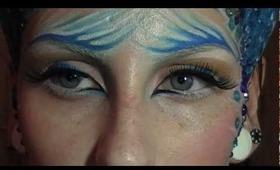Zircon dragon make-up tutorial / look for Halloween