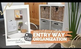 Home Entry Way Organization Ideas for Small Spaces | Smart Home Style