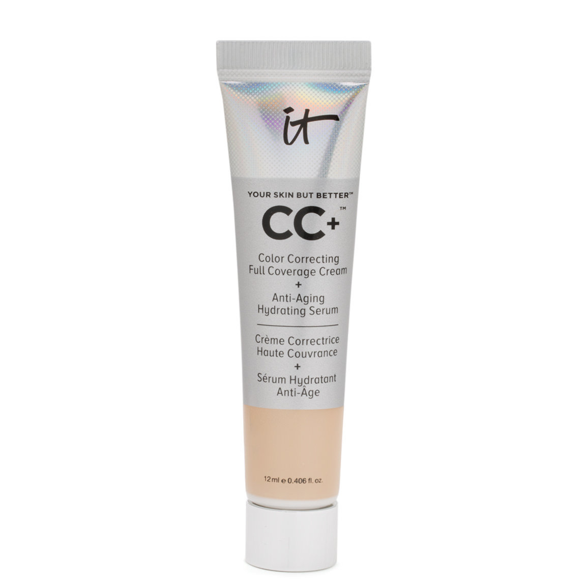 IT Cosmetics  Your Skin But Better CC+ Cream with SPF 50+ Travel Size Fair