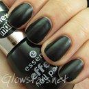 essence Effect Nail Polish in the Black Cat (latex matt)