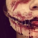 Special Effects, torn cheek..