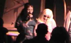 "Lady Zombie & Deity Delgado perform ""Talk to Me"" at Nurse Bettie (5.3.11)"