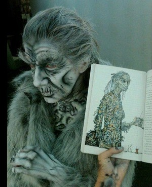 Blanche Macdonald Makeup student Paige Roy's real life interpretation of a storybook character.