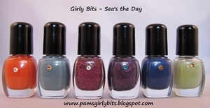 Girly Bits, Sea's the Day collection, fall 2011