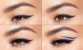4 Eyeliner Looks in 1 minute | Maryam Maquillage