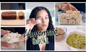 3 Easy Homemade Snacks // Wheat Free + Low Sugar