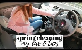 5 SPRING CLEANING TIPS FOR THE CAR