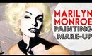 Marilyn Monroe Makeup Painting