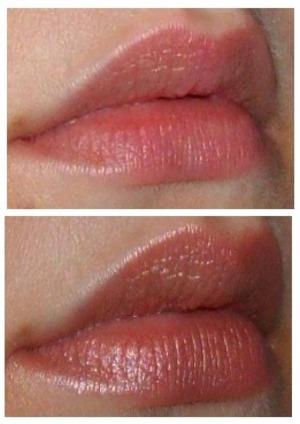 Bottom: NYX Round lipstick in Darling
