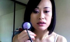 Makeup Tutorial: Wearable purple and pink girly look (Mac eyeshadows)