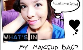 What's in my MAKEUP BAG???