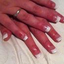 Short bitten nails transformed