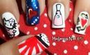 Nail Art Inspired: what I love it makes me what I am~ My entry to AGoates contest