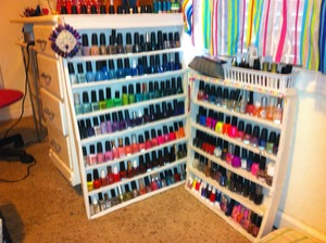 It's no Mani Cave but it'll do!