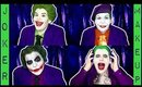 ONE GIRL FOUR JOKERS: The Evolution of Joker Makeup in Movies by goldiestarling