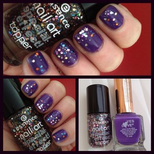 circus confetti and yes love polish 144