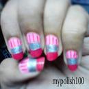 Pink Pencil Nails