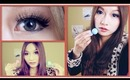 NEO Cosmo Grey & EOS Barbie Doll Blue Circle Lenses Review & Giveaway - Lensevillage.com