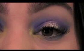 Spring Trend: Bold, Color Blocking  Makeup Tutorial!