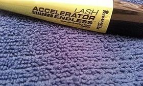 Rimmel London Lash Accelerator Endless Mascara Demo