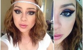Egyptian Cleopatra Arabic Makeup Tutorial for Halloween