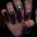 Cheetah Nail Art. (version #2)